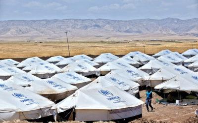 UNHCR-Flüchtlingszelt macht Station in Greifswald